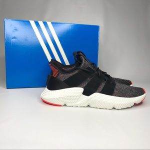 NWT Adidas Men Prophere Core Black/Red